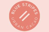 Blue Stripes Urban Cacao Logo